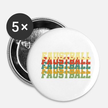 Sport De Balle Sport balle fistball cadeau sports balle fistball - Badge petit 25 mm