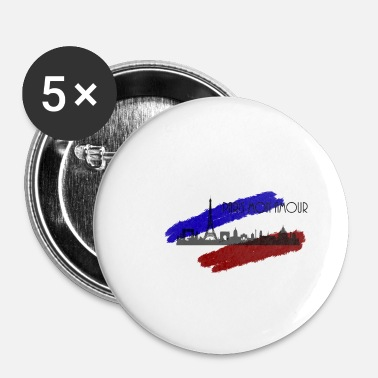 Confession Paris mon amour - Badge petit 25 mm