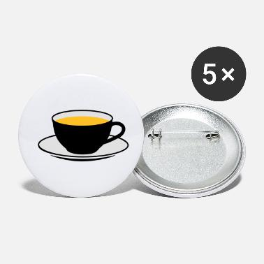 Saucer A teacup with a saucer - Small Buttons
