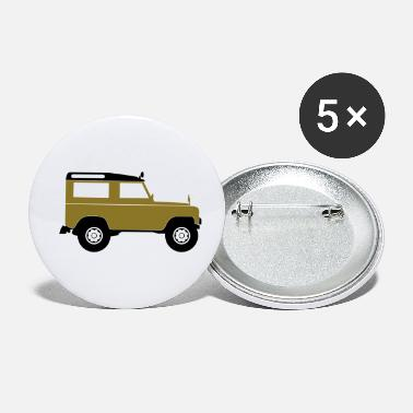 Sports Utility Vehicle SUV - Buttons klein
