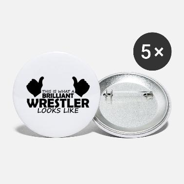 Wrestler brilliant wrestler - Small Buttons