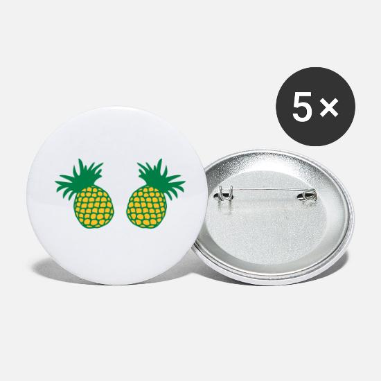Sex Buttons - ♥ټEat More Pineapples-Best Awesome Fruitټ♥ - Small Buttons white