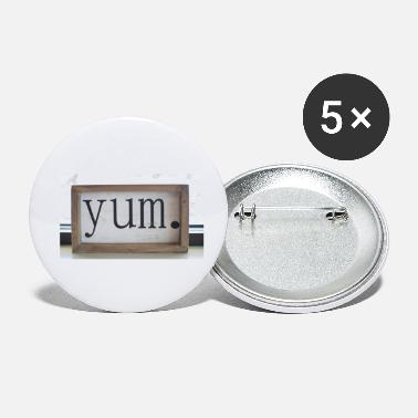 Yum yum - Small Buttons