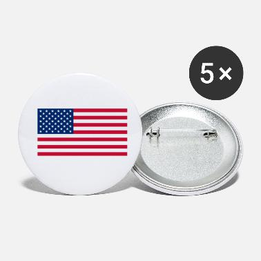 Us US flag - Buttons klein