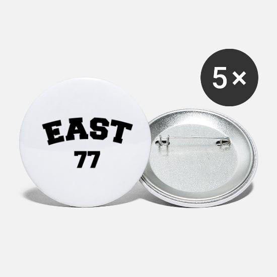 East Buttons - EAST 77 - Small Buttons white