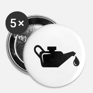 Olie olie - Buttons klein 25 mm (5-pack)