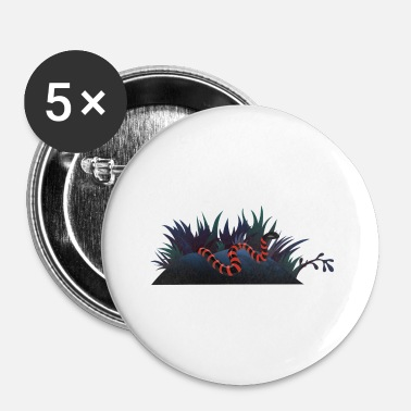 Slang slang - Buttons klein 25 mm (5-pack)