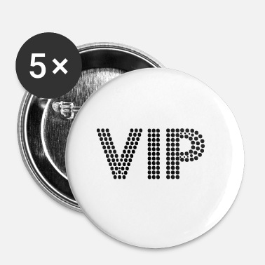 Vecteur vecteur VIP - Badge petit 25 mm