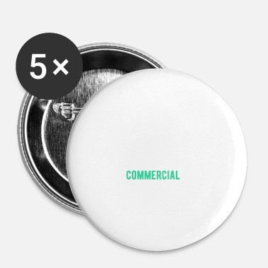 Commercial Un super Commercial cadeau - Lot de 5 petits badges (25 mm)