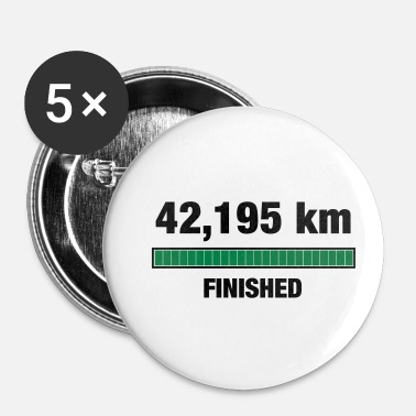 Marathon Marathon Finisher - Badge petit 25 mm