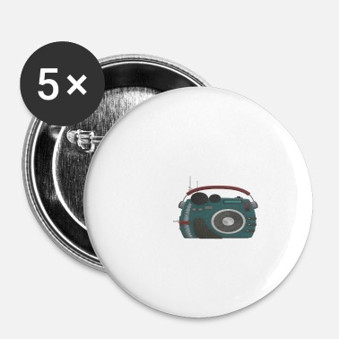 Radio radio - Buttons/Badges lille, 25 mm