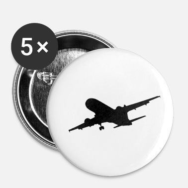 Jet Jumbo jet - Buttons/Badges lille, 25 mm