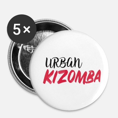 Urban Urban Kizomba - Urban Kiz Shirt - Badge petit 25 mm
