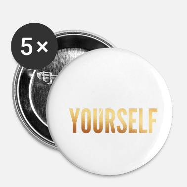 Review Review / Improve Yourself - Buttons small 25 mm