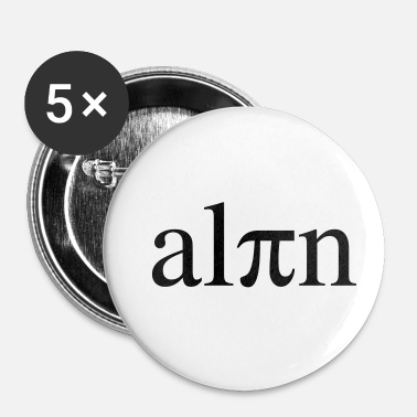Alpes Alpes alpines - Badge petit 25 mm