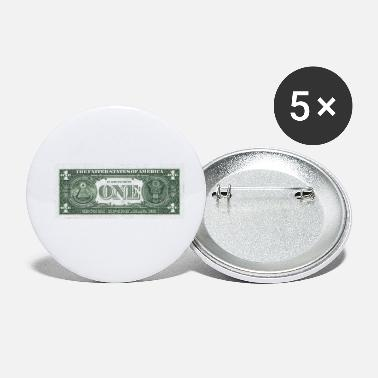 Seddel Seddel One Dollar design - Små buttons