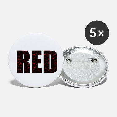 Red Red - Small Buttons