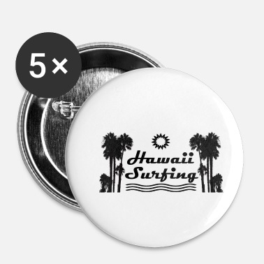Hawaï Surf à Hawaï - Badge petit 25 mm