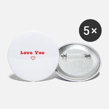 Hodetelefoner love you - Small Buttons