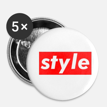Stylé style - Badge petit 25 mm