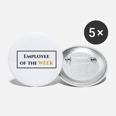 Employee of the week - Small Buttons