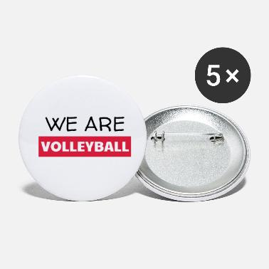 Volley Volleyball - Volley Ball - Volley-Ball - Sport - Små buttons