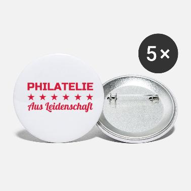 Philatelist Philatéliste Stamp Philatelie Philatelist Stempel - Small Buttons
