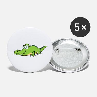 Crocodile - Small Buttons