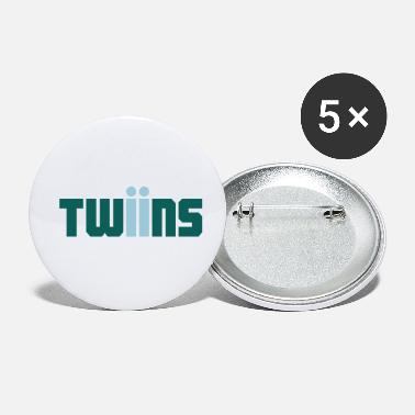 Twins twins logo Twins - Buttons klein