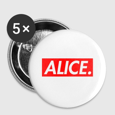 Alice. - Spilla piccola 25 mm