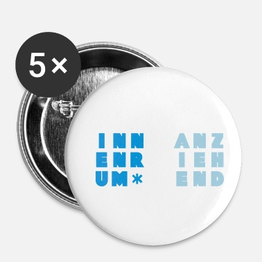 Attraktiv attraktiv indeni - Buttons/Badges lille, 25 mm