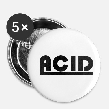 Acide Logo acide - Badge petit 25 mm