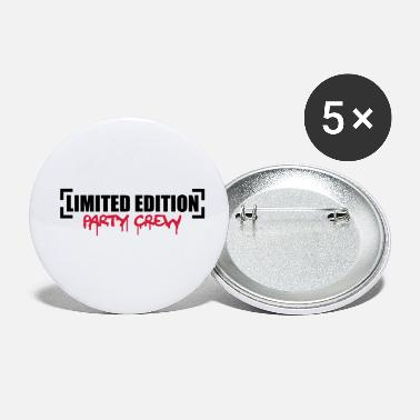 Party Limited Edition Party Crew Design - Små buttons