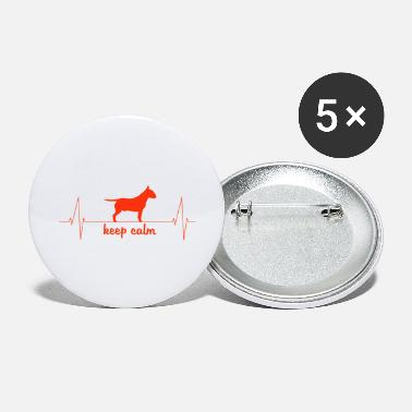 Pitbull de battement de coeur - Petits badges