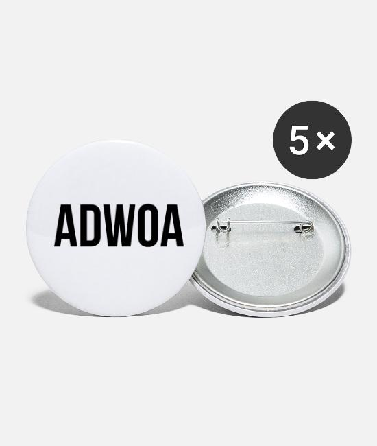 Proud Buttons - Adwoa - Small Buttons white