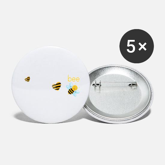 Dad Buttons - Dad To Bee.. - Small Buttons white