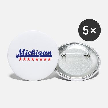 Michigan Michigan - Buttons klein