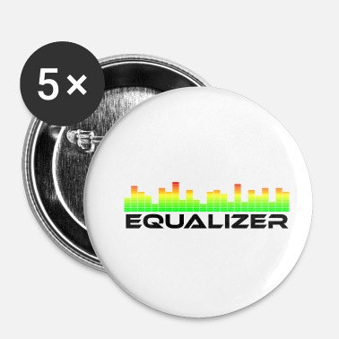 Equalizer equalizer one - Badge petit 25 mm