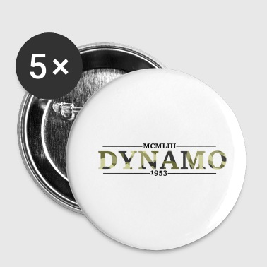 Dynamo-Camouflage - Buttons klein 25 mm
