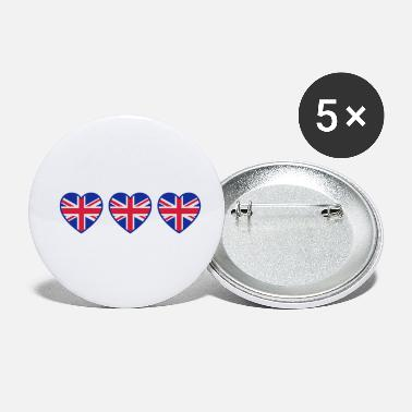 I Love Ireland great_britain_hearts_c3 - Small Buttons
