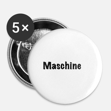Maskine maskine - Buttons/Badges lille, 25 mm