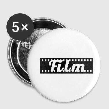 Film Lettrage de film sur film - Badge petit 25 mm