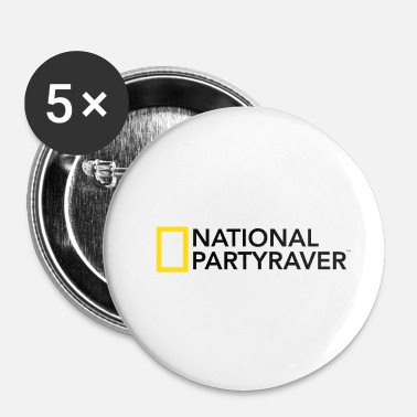 National National Partyraver - Buttons/Badges lille, 25 mm