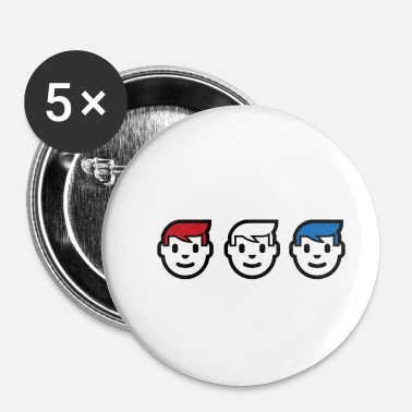 United United Trumps - Buttons/Badges lille, 25 mm