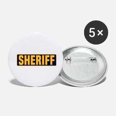 Sheriff sheriff - Small Buttons
