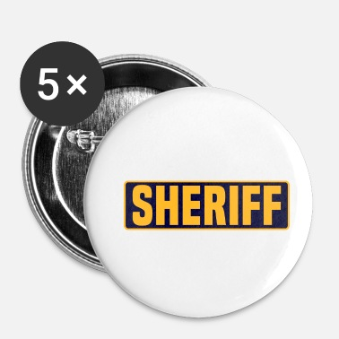 Sherif sherif - Buttons/Badges lille, 25 mm