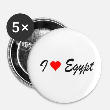 Egypte Egypte - Buttons klein 25 mm (5-pack)
