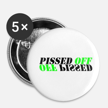 Off Pissed Off Off Pissed - Små knappar 25 mm