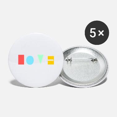 Eye Love colorful logo - Small Buttons