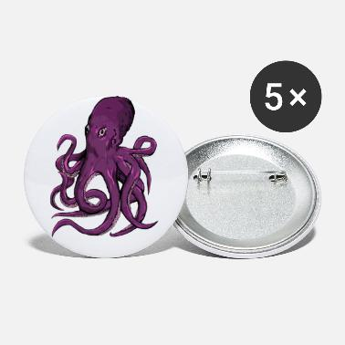 Octopus - Buttons klein